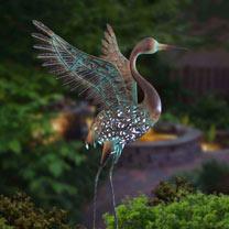 Ornate Solar Winged Crane