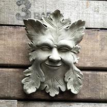 Smiling Green Man
