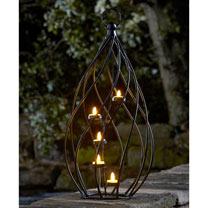 Spiral Lantern Tea-Light Holder