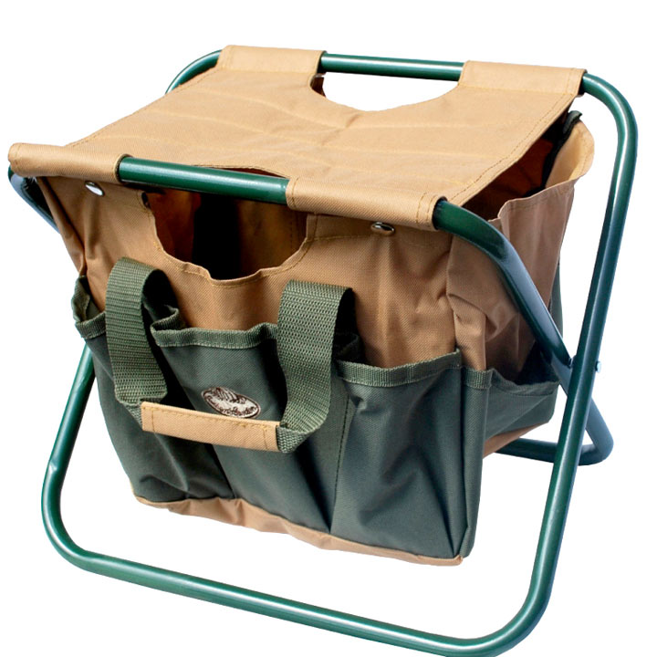 Gardening Stool with Removable Tool Bag