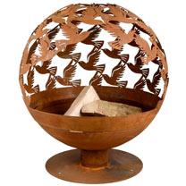 Birds Fire Globe