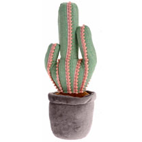Cactus Door Stopper - Green