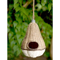 Pear Bird House