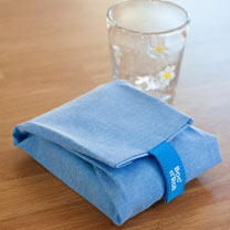 Zero Waste Sandwich Wrap - Blue