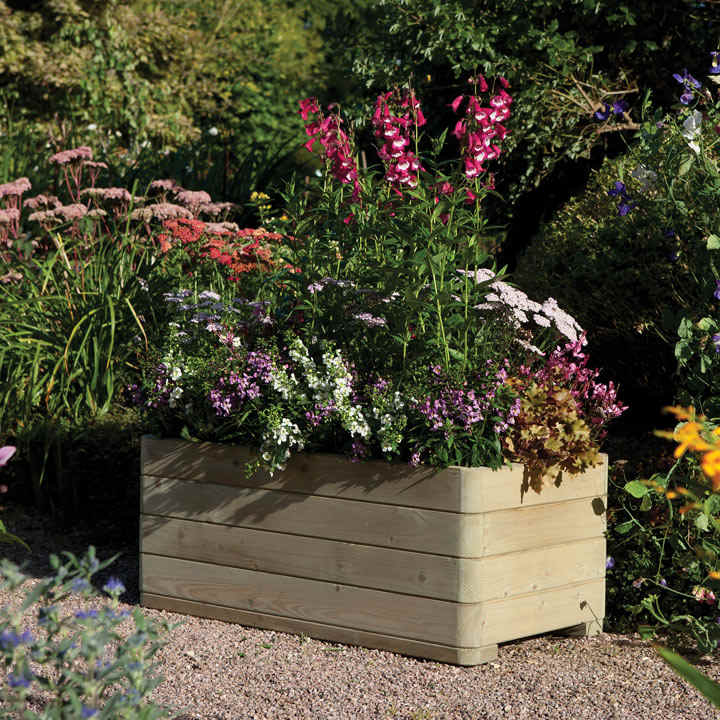 Marberry Rectangular Planter
