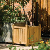 Pressure treated to protect against rot Natural timber finish Can be painted or stained if desired Tongue and groove panelsDimensions: EXTERNAL 500mm