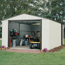 Murryhill Metal Garage - 12' x 24'