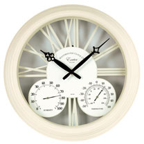 Exeter Cream Clock