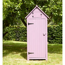 Garden Tool Shed - Plum