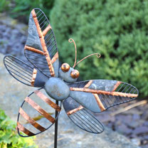 Decorative Wall Bee / Bee Stake