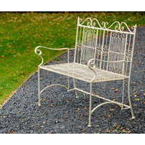 Old Rectory Bench - Cream