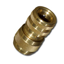 This solid brass quick connector will last much longer compared to its plastic counterparts! Manufactured from premium brass for durability and aesthe