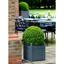 """Classic Planter - 15"""" Heritage Charcoal"""