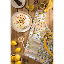 Beekeeper Textiles Offer - Apron, Tea Towels, Oven Glove