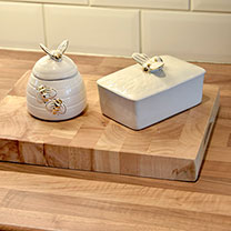 Busy Bee Butter Dish
