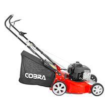 "Cobra 18"" Petrol Powered Lawnmower B&S"