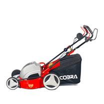 "Cobra 18"" Electric Powered Lawnmower + Mulching"