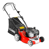 "Cobra 16"" Petrol Powered Lawnmower"