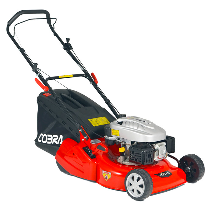 "Cobra 18"" Petrol Powered Rear Roller Lawnmower"