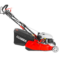 "Cobra 16"" Petrol Rear Roller Lawnmower Electric Start"