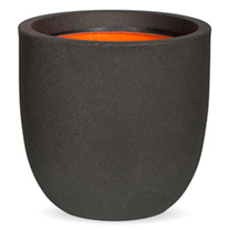 Tutch Pot Ball Planter - Black