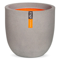 Tutch Pot Ball Planter - 35 x 34cm Grey