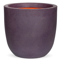 Tutch Ball Planter - Aubergine