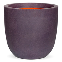 Tutch Pot Ball Planter - Aubergine