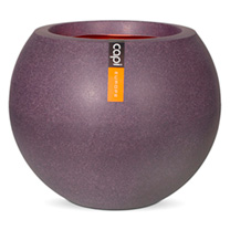 Tutch Vas Ball Planter - Aubergine