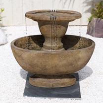 Alfresco Fountain - Relic Lava