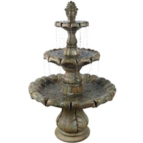 Classical Finial Fountain 6 Piece - Relic Nebbia