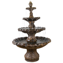 Classic Finial Fountain 8 Piece - Relic Lava