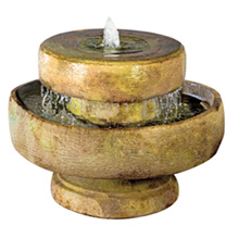 Millstone Fountain including Light - Relic Sargasso