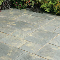 Abbey Paving Random Patio Kit - 5.76m2 Antique