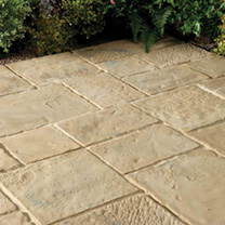 Minster Paving Random Patio Kit - 5.76m2 Autumn Brown