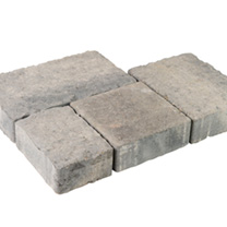 Highbury Mixed Size Pack - 9.6m2 Ash
