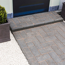 Malvern Drive Paving Pack - 9.76m2 Charcoal