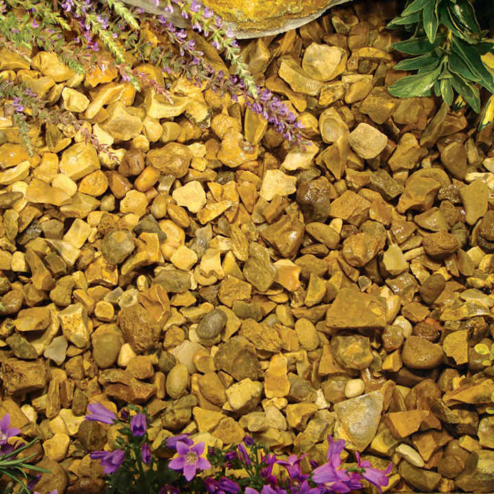 Landscape Gravel Bulk : Golden gravel bulk aggregates landscaping garden equipment