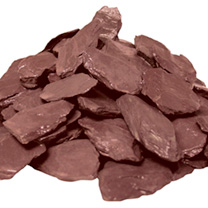 Plum Slate Chippings 40mm - Bulk