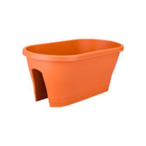 Corsica Flower Bridge Planter - Terracotta