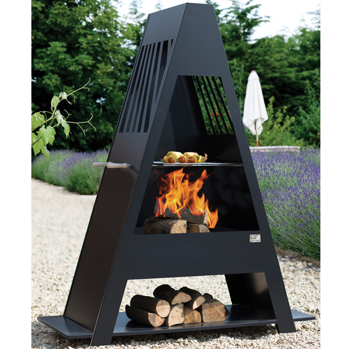 Alpha Contemporary Chimenea
