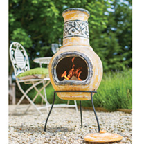 Medium Climbing Plant Chimenea