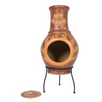 Keep Warm Copper-effect Chimenea