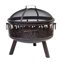 Wildfire Firepit with Grill
