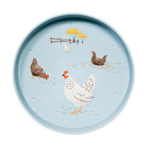 Hugletts Hens - Serving Tray / Mug