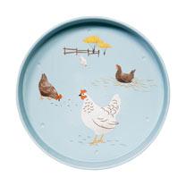 Hugletts Hens - Serving Tray / Mug