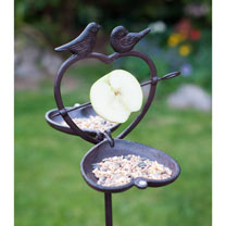 Bird Apple Feeder
