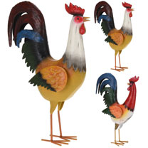 Decorative Rooster - Red