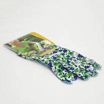 Gardening Gloves - Ladies Essential Flowered Cotton
