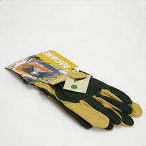 Gardening Gloves - Ladies Essential Embroidered Cotton Size 6